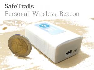 GEKO NAVSAT SafeTrails Personal Wireless Beacon